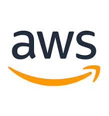 aws logo orange and black